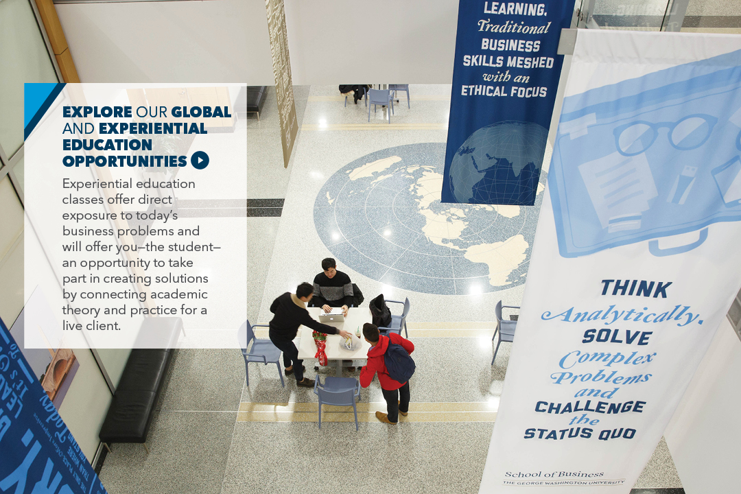 Explore our Global and Experiential Education opportunities.