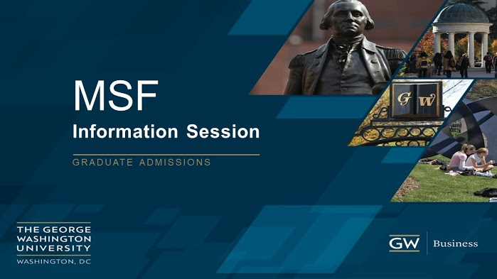 MSF info session