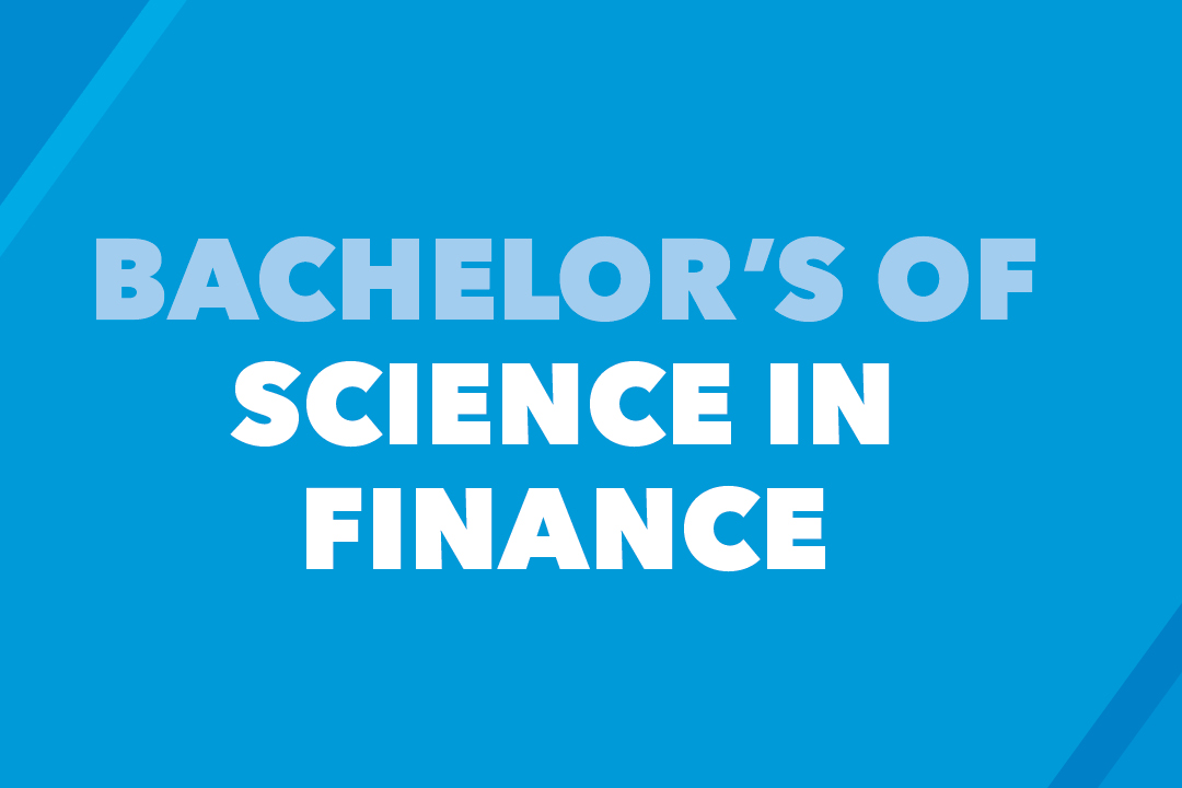 Bachelor of Science in Finance