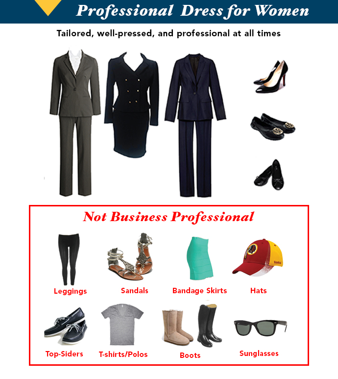 Clothes for professional women