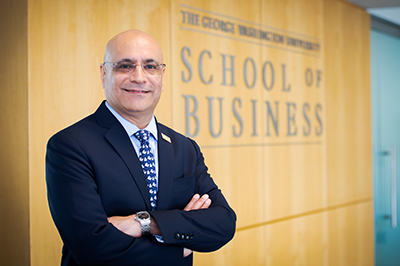 photo - Dean Anuj Mehrotra, GW School of Business