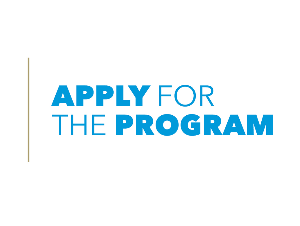 Click here to apply to the program