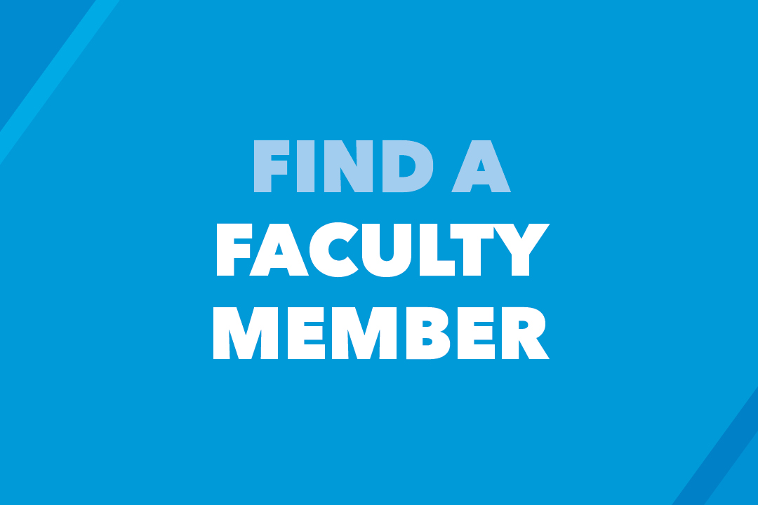 Find a Faculty Member