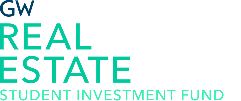 image - GW Real Estate student investment fund logo