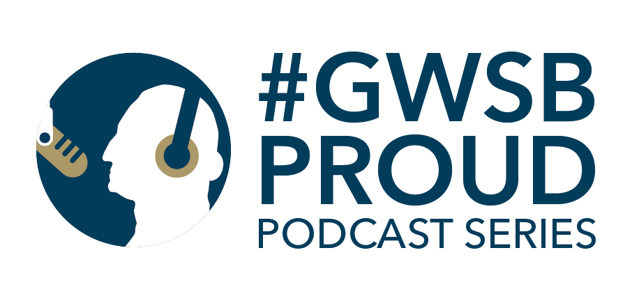 image - the GWSB Proud podcast series logo