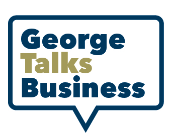 image - George Talks Business logo