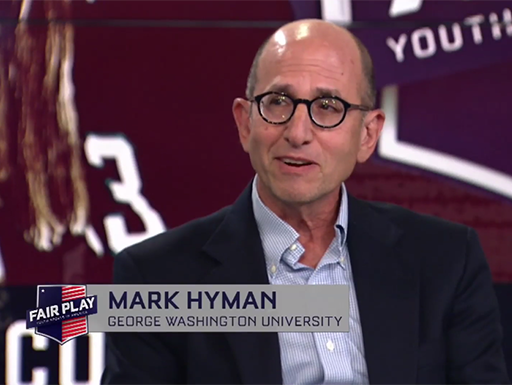 screenshot - Mark Hyman on NBC Sports Washington