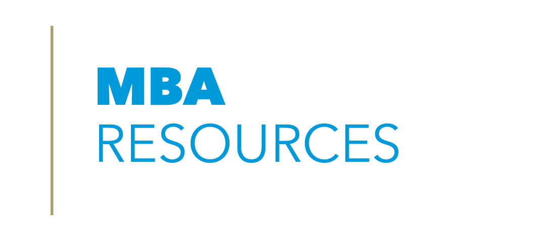 Click to access GWSB's MBA Resources