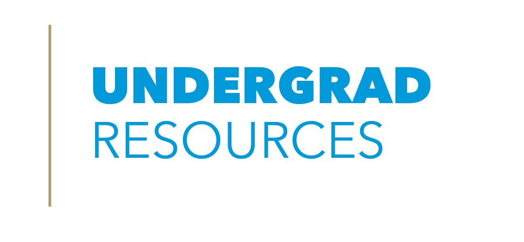 undergraduate resources