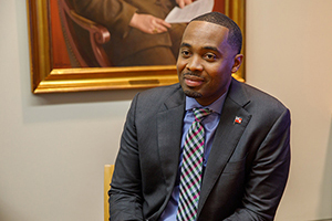 photo - David Burt, Premier of Bermuda and GWSB Alumnus, On Life, Luck, and GW