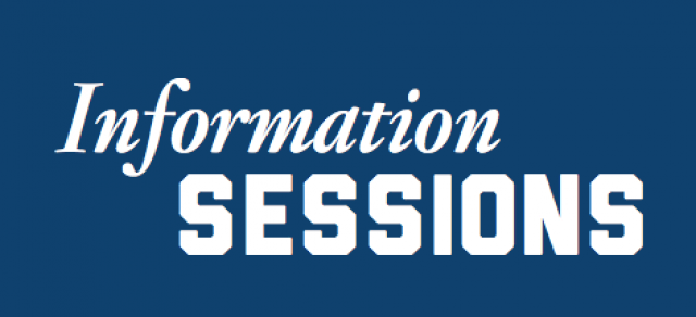 Photo of Info Sessions