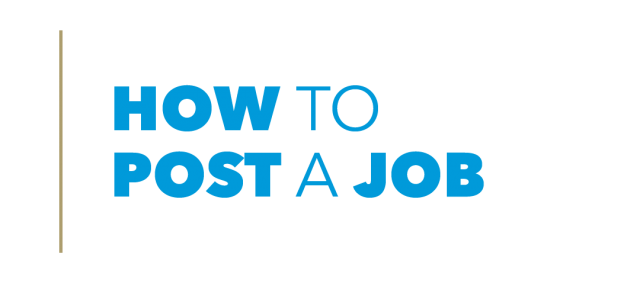 How to Post a Job