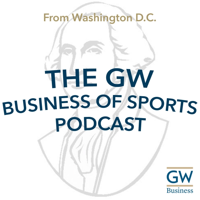 logo - The GW Business of Sports Podcast
