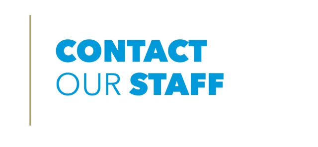 Contact Our Staff