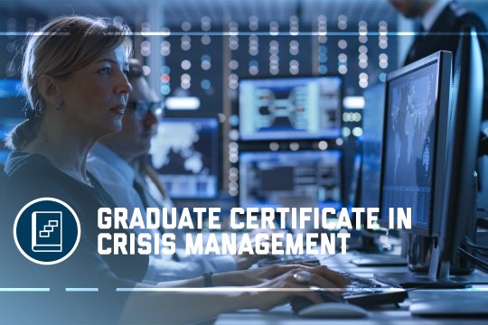 header image - the Graduate Certificate in Crisis Management program at the GW School of Business