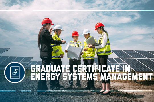header image - the Graduate Certificate in Energy Systems Management program at the GW School of Business
