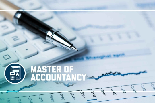 header graphic - The Master of Accountancy program at the GW School of Business