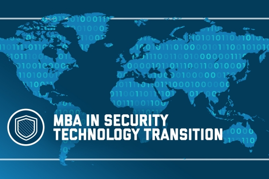 header image - The MBA in Security Technology Transition program at the GW School of Business