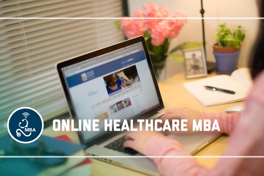 header graphic - The Online Healthcare MBA program at the GW School of Business