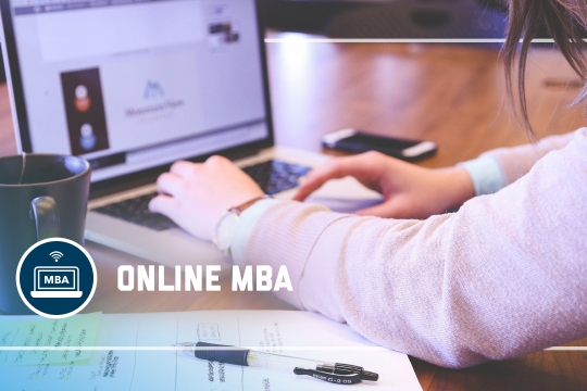 header graphic - The Online MBA program at the GW School of Business