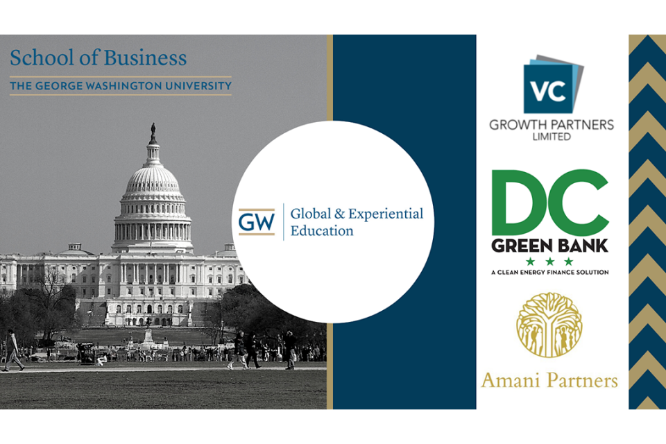 G&EE Impact Investing course promo flyer
