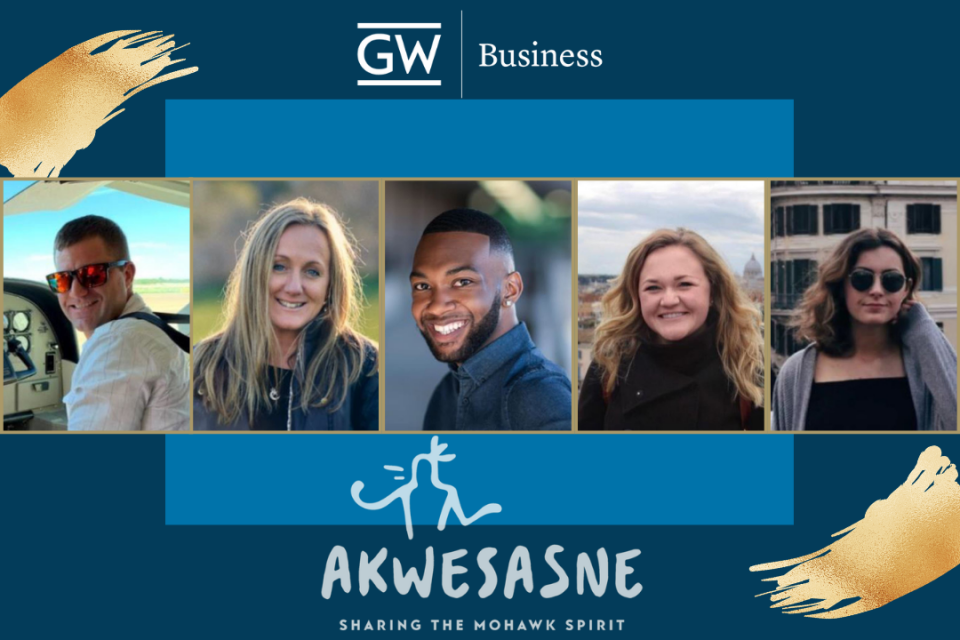 header image for GWSB-Akwesasne project-based learning collaboration