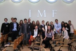 Students Visit the IMF