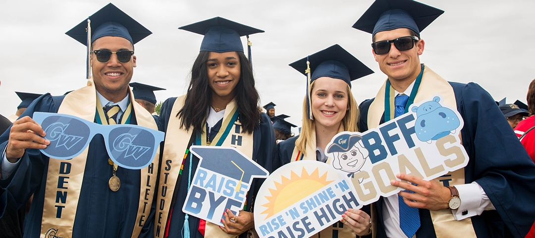 photo - GWSb Students at 2017 Commencement